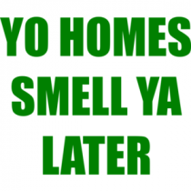 YO HOMES SMELL YA LATER Funny Fresh Prince of Bel Air
