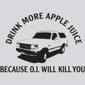 Drink Apple Juice Oj Kills